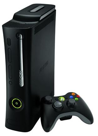 Xbox 360 Console Clipart.