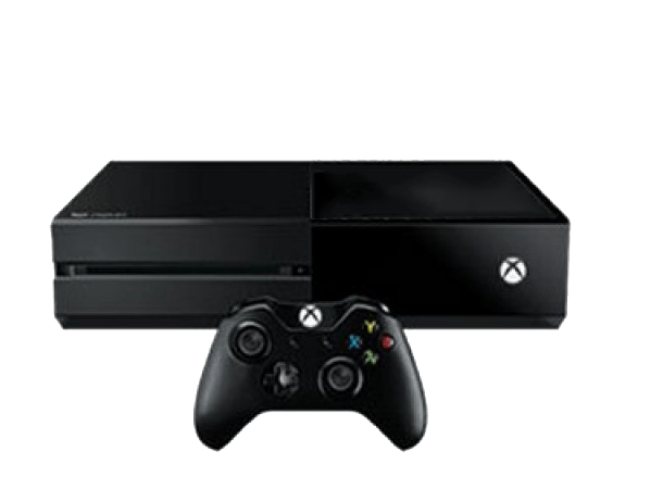 Xbox one console transparent background.