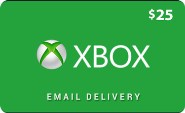 Buy $25 Xbox Gift Cards Online.