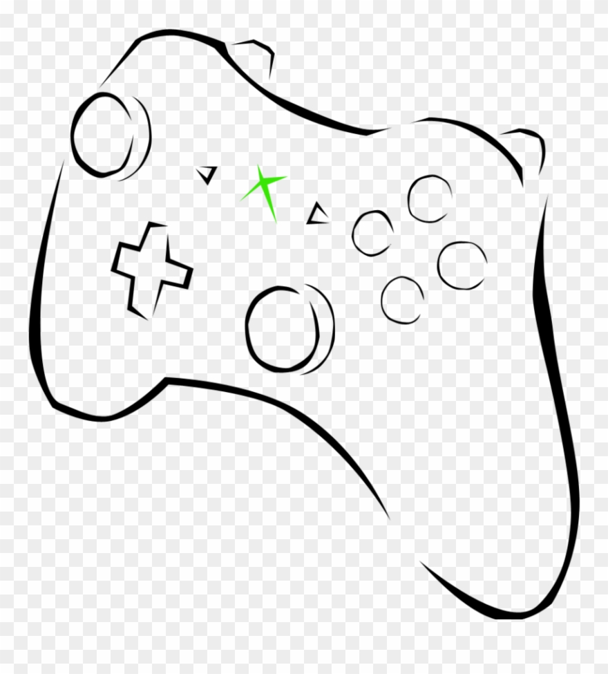 Xbox Clipart Free Download Clip Art On Black And White.