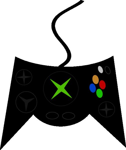 Xbox Game Controller Clipart.