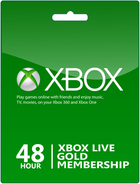 48h Trial Xbox Live Gold.