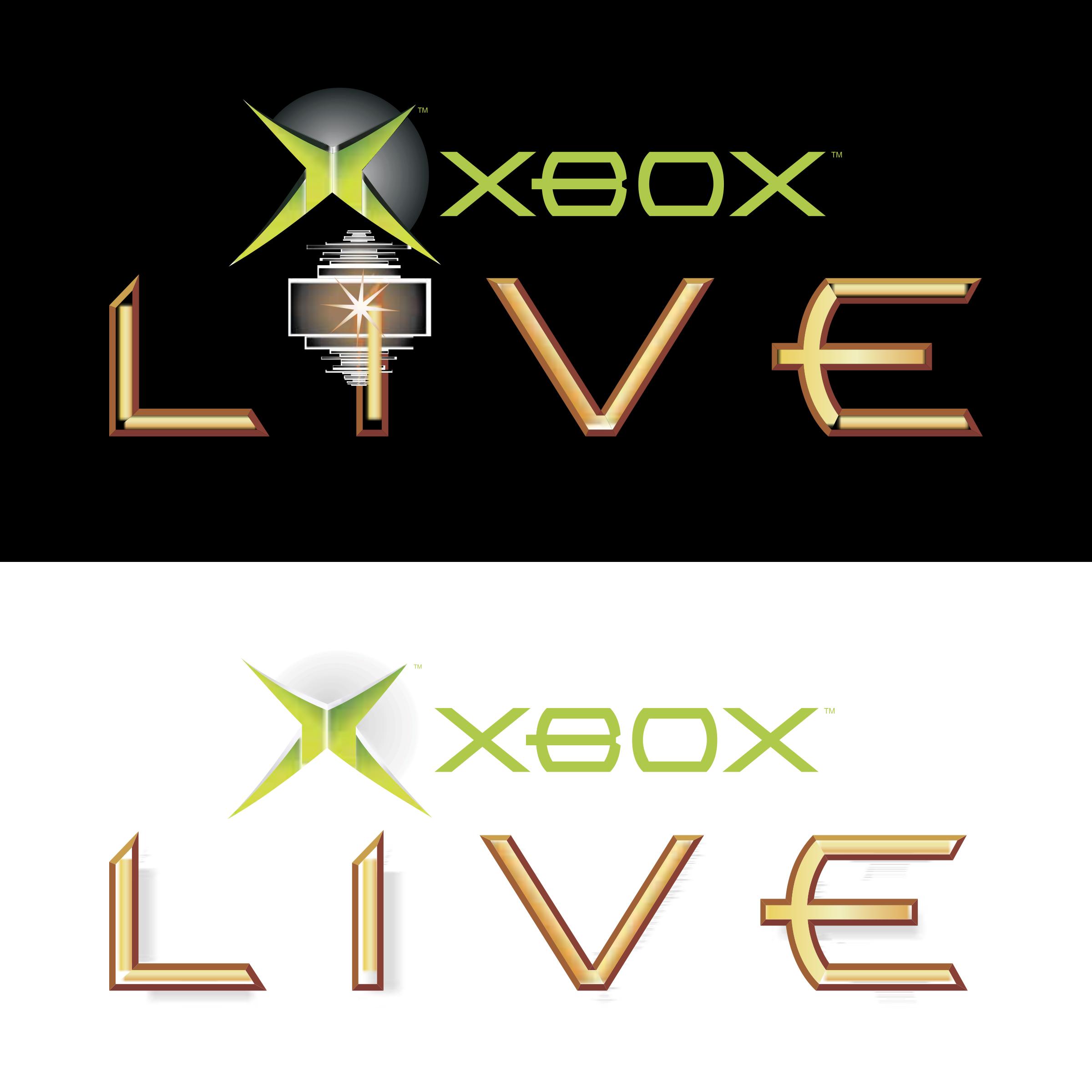 XBOX Live Logo PNG Transparent & SVG Vector.