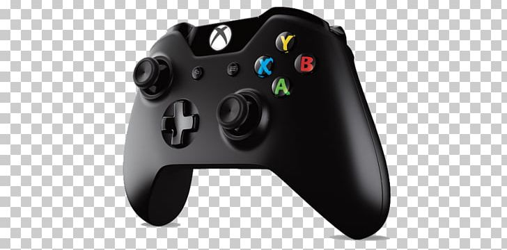 Xbox One Controller Xbox 360 Controller Black Game Controllers PNG.