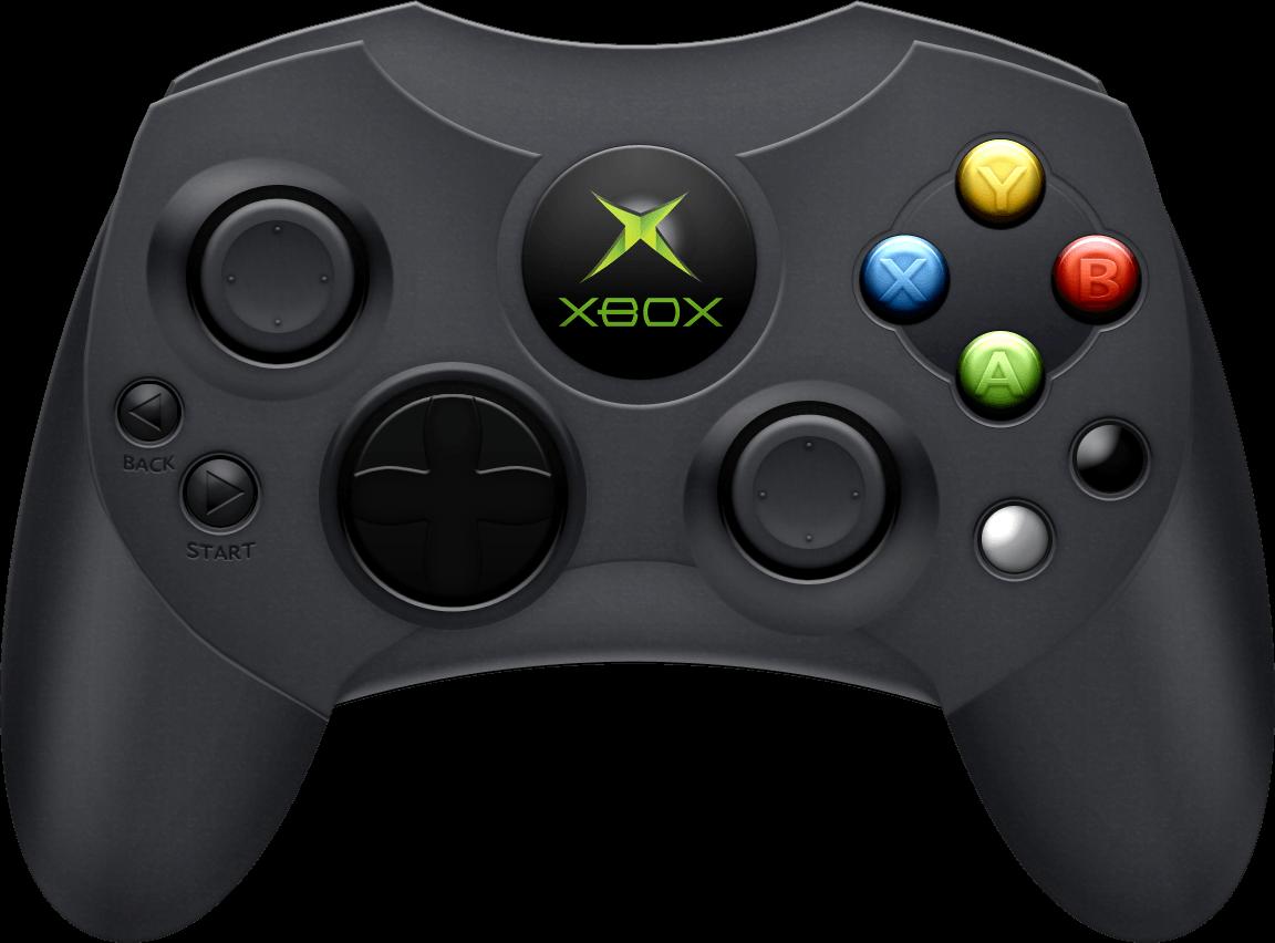 Xbox Black Joystick transparent PNG.
