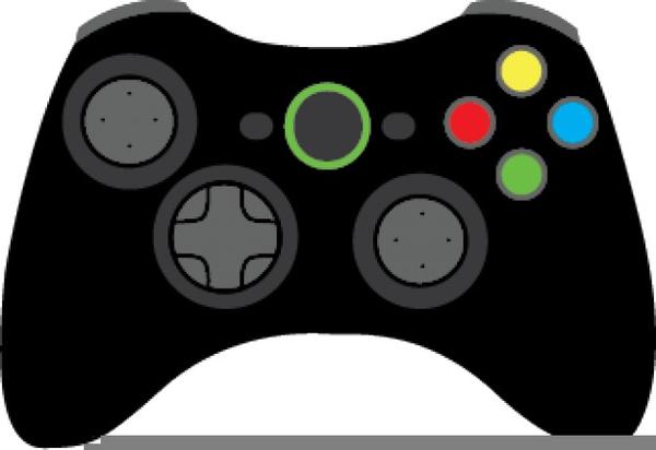 Xbox Remote Clipart.