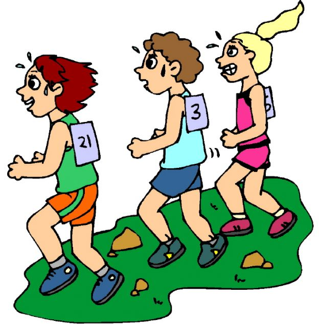 Showing post & media for Cross country running cartoon.