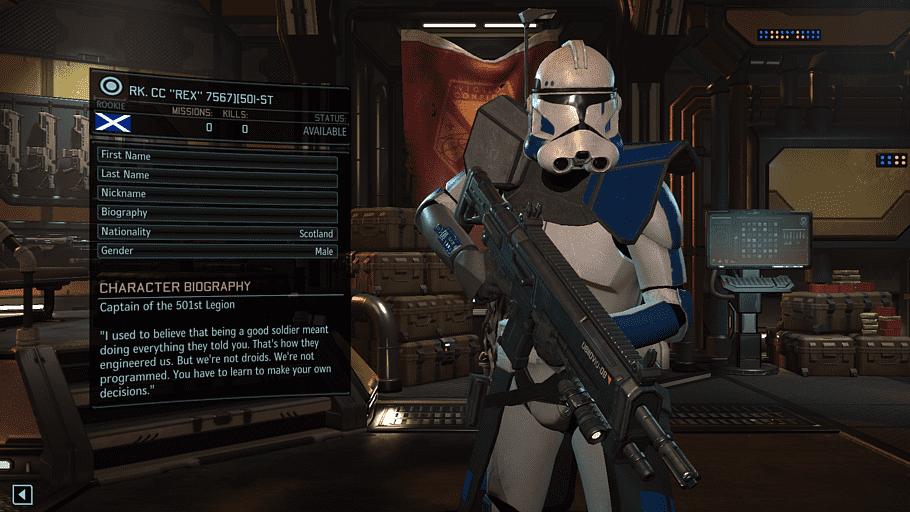 XCOM 2: War of the Chosen Star Wars: Republic Commando Clone.