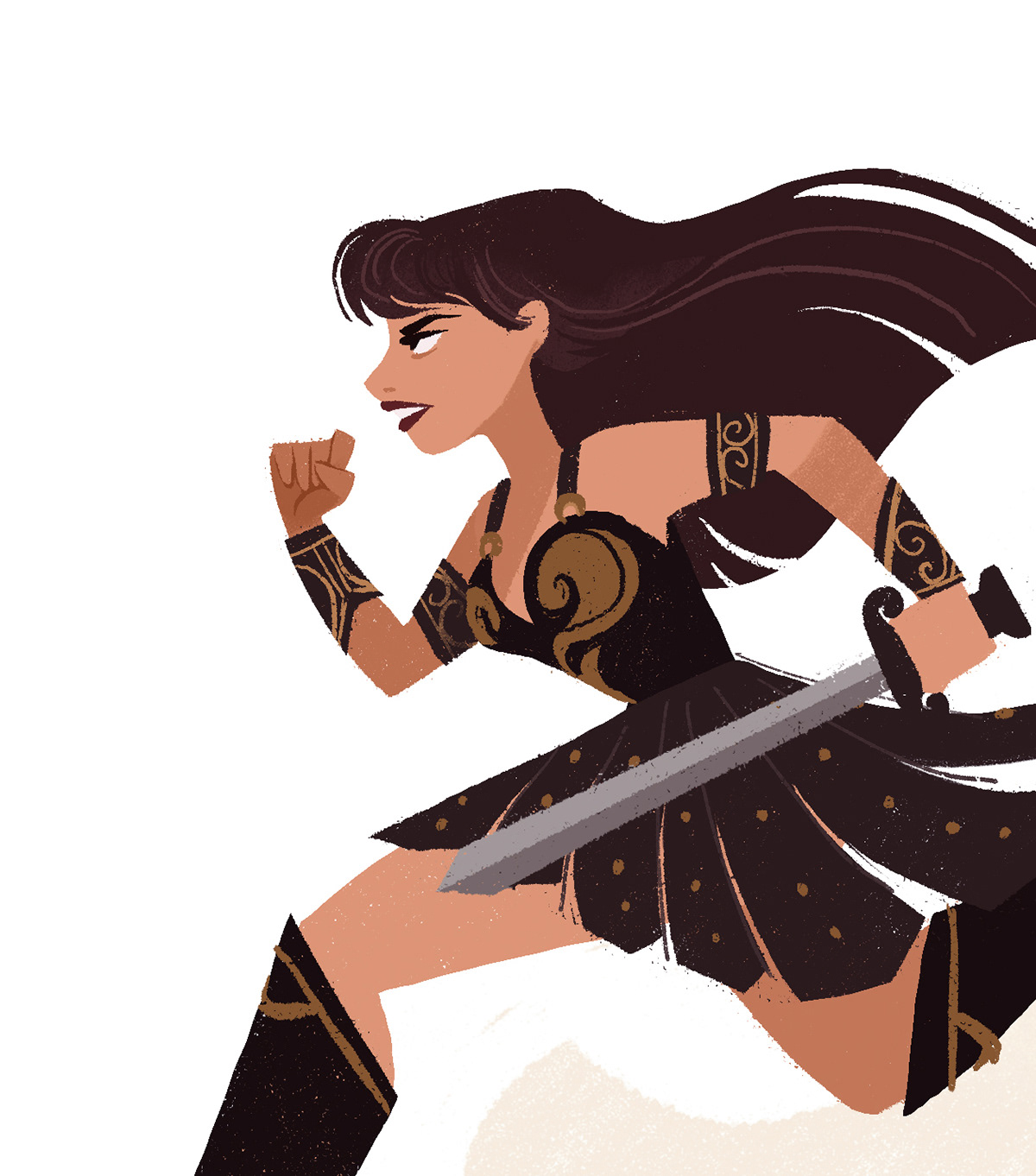 Xena Warrior Princess on Behance.