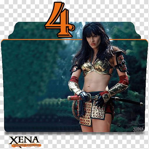 Xena Warrior Princess series and season folder ico, Xena S.