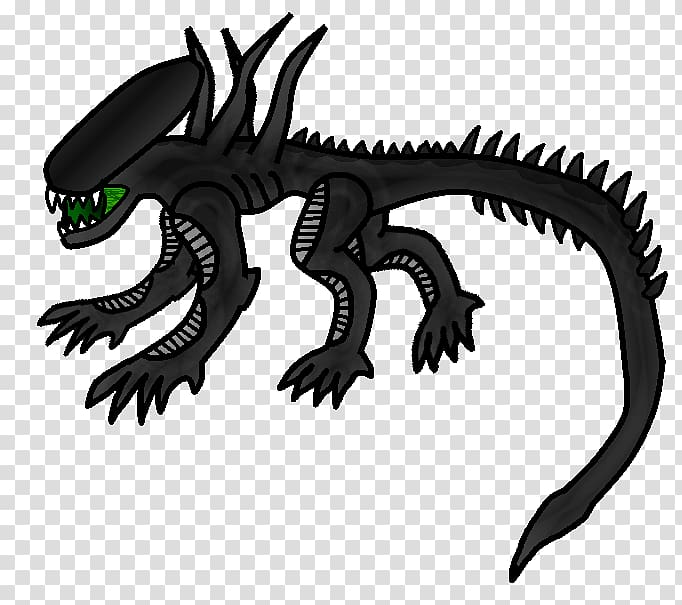 Alien: Isolation Drawing , xenomorph transparent background.