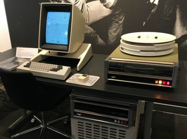 1973 Xerox Alto computer that inspired Paul Allen and others.
