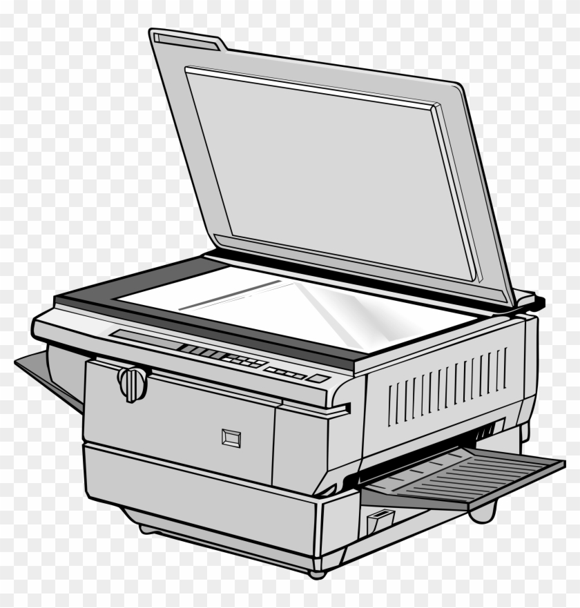 This Free Icons Png Design Of Office Copy Machine.