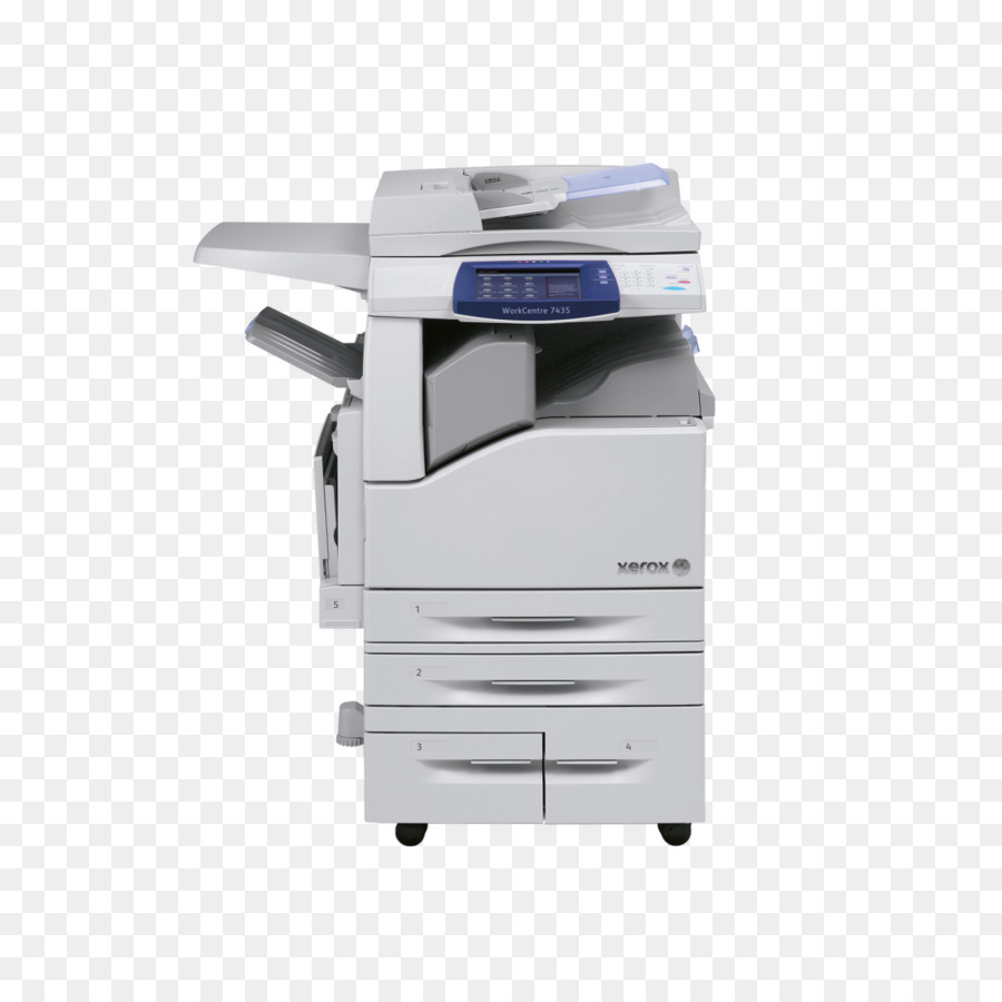 Xerox Photocopier png download.