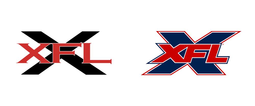 Brand New: New Logo for XFL.
