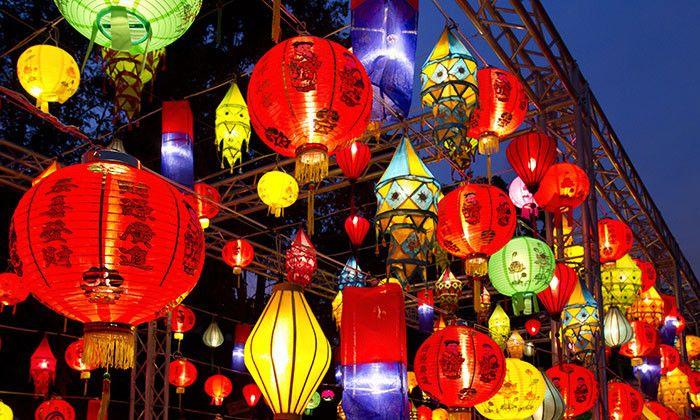 Hong Kong lanterns! in 2019.
