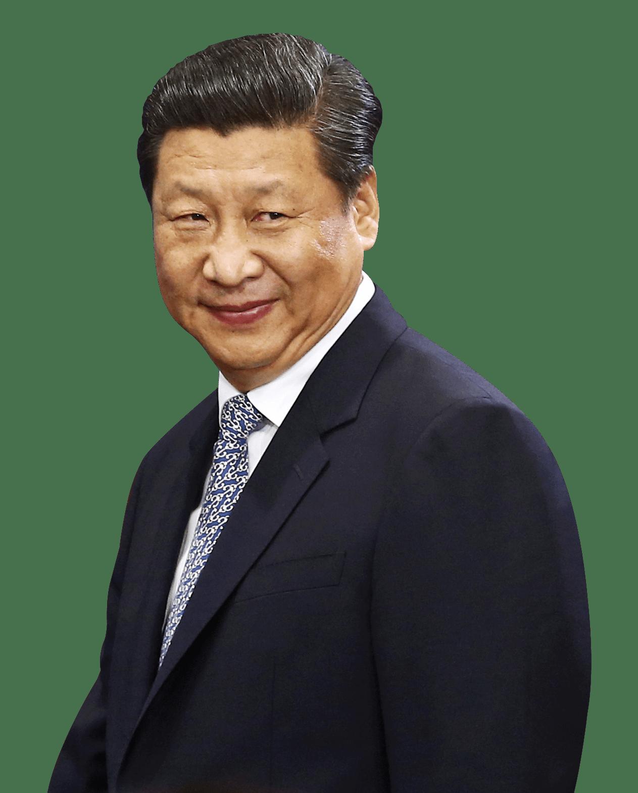 Xi Jinping Side View transparent PNG.