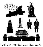 Xian Clipart Vector Graphics. 16 xian EPS clip art vector and.
