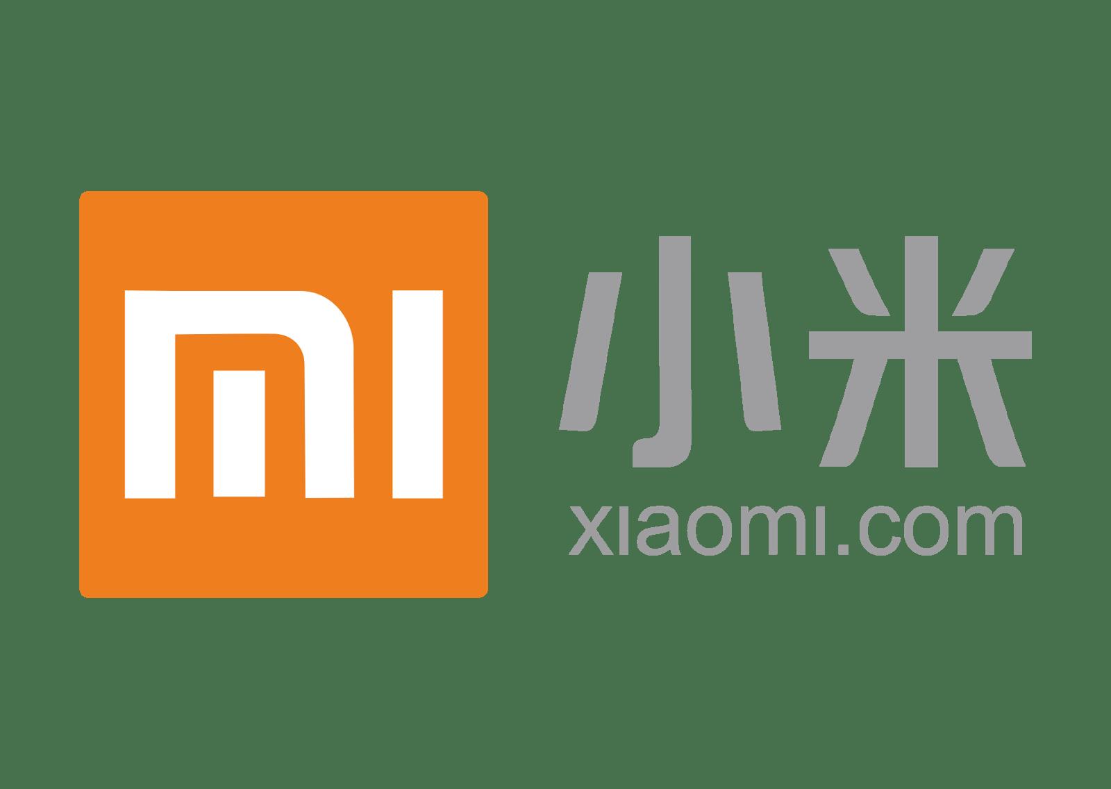 Xiaomi Logo transparent PNG.