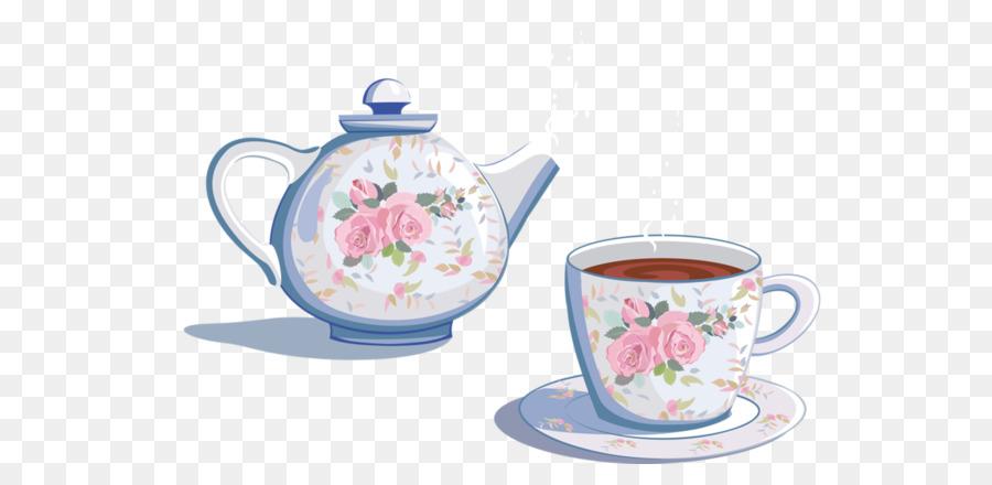 Chá, Xícara De Café, Bule De Chá png transparente grátis.