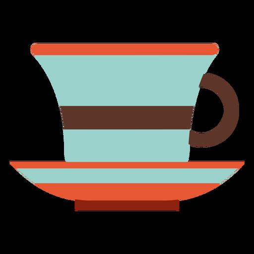 Cozinha de ícone de xícara de chá.