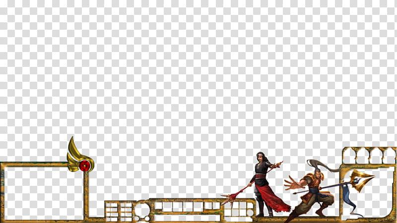 Xin Zhao and Sanada Yukimura transparent background PNG.