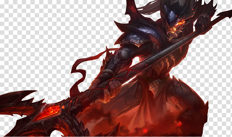 Dragonslayer Xin Zhao, male character illustration.