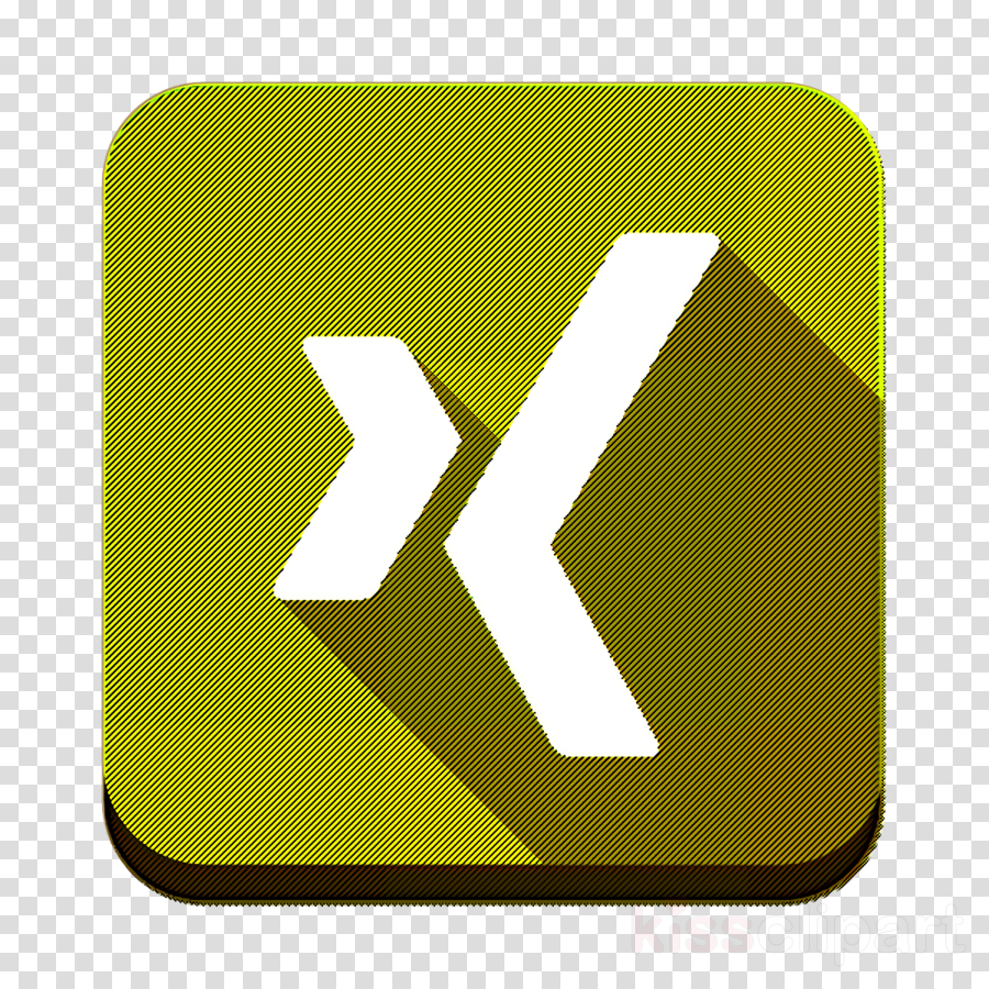 social icon xing icon clipart.
