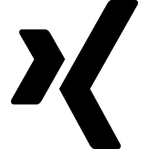 Xing social logotype.