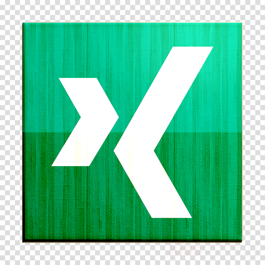 xing icon clipart.