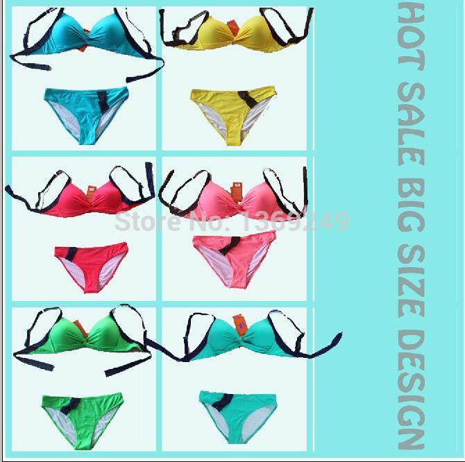 Best Ladies Twist Bandeau Top Bikini Swimwear,Six Color Bikini.