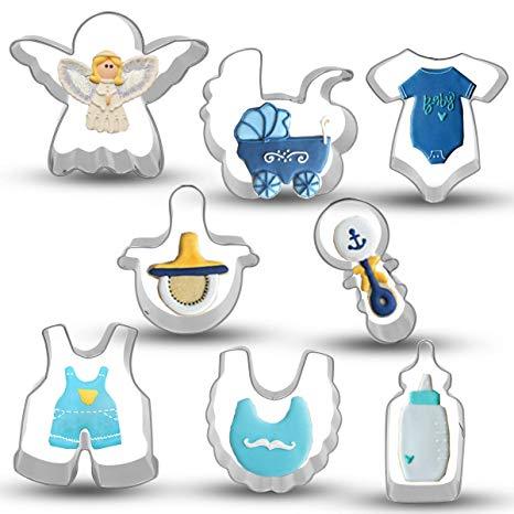 Bonropin Baby Shower Cookie Cutter Set.