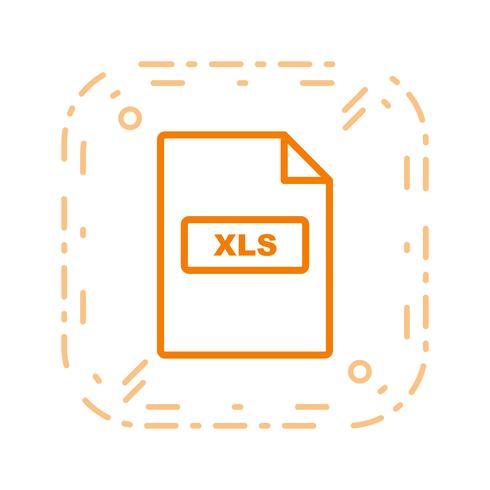XLS Vector Icon.
