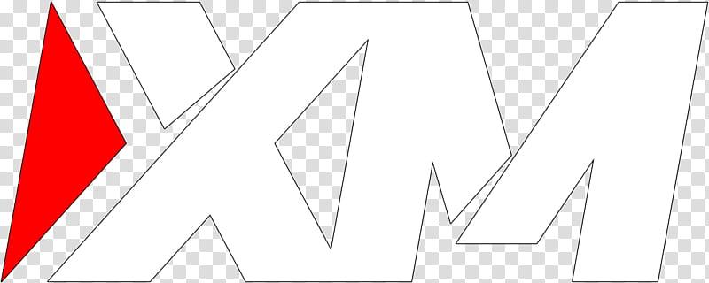 XM Logo transparent background PNG clipart.