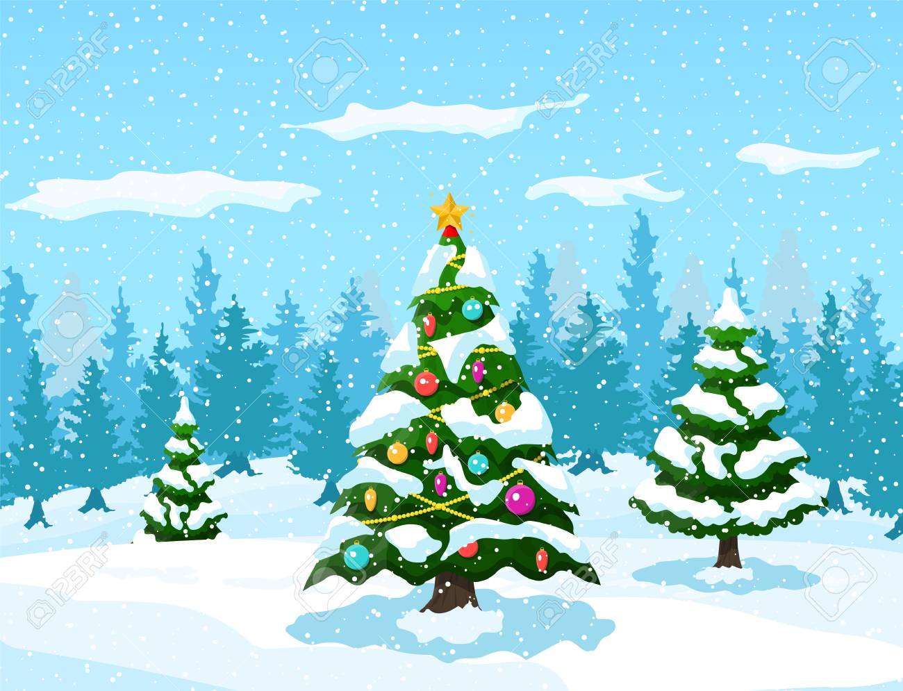 764 Christmas Background free clipart.