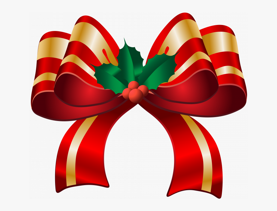 Permalink To 150 Good Christmas Bow Clipart Ideas.