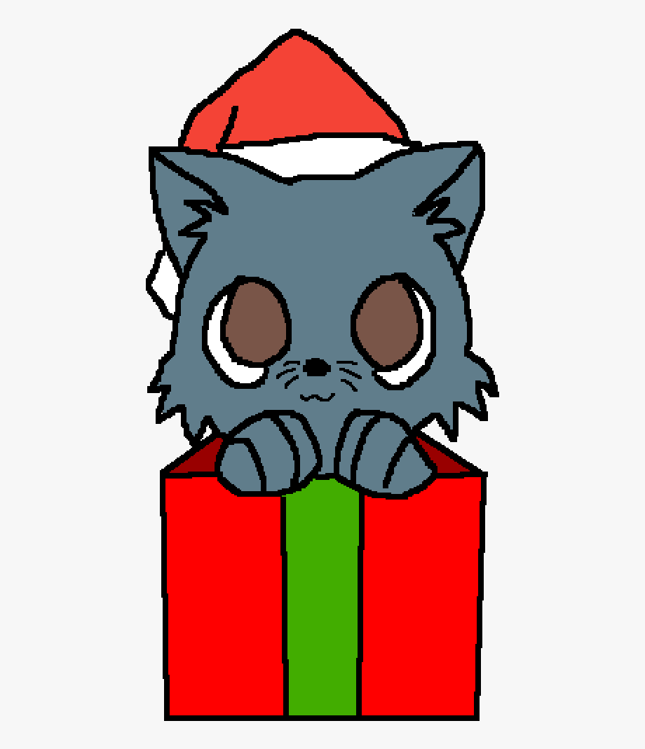 Christmas Cats Drawing , Transparent Cartoon, Free Cliparts.