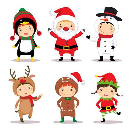 119,457 Christmas Characters Cliparts, Stock Vector And Royalty Free.