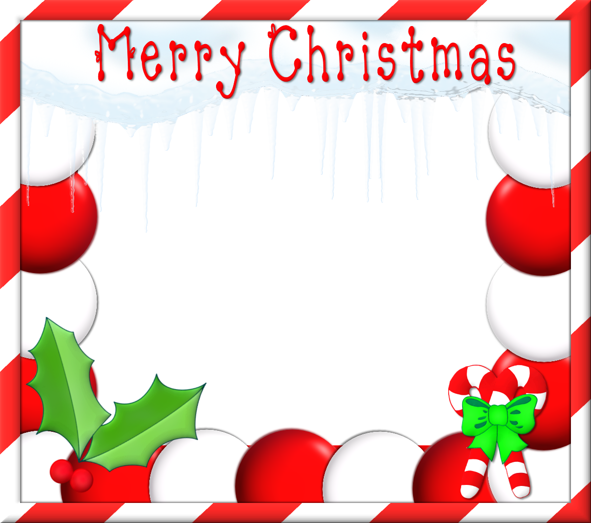 Free Christmas Clipart Border.
