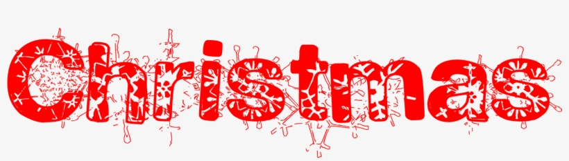 Merry Christmas Clipart Font.