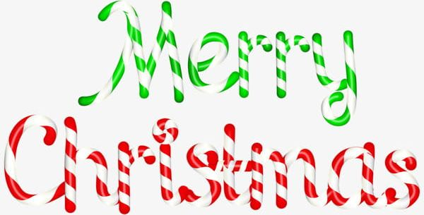 Red And Green Merry Christmas Font PNG, Clipart, Christmas.
