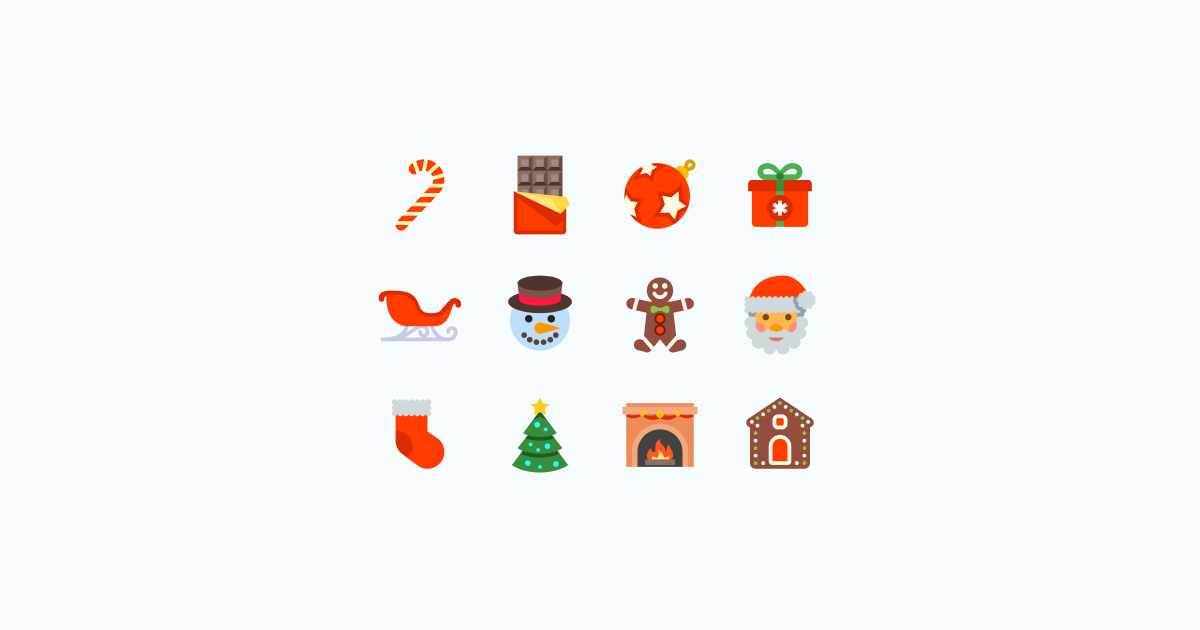 Jingle Bells: 21 Packs of Christmas Clipart and Icons.