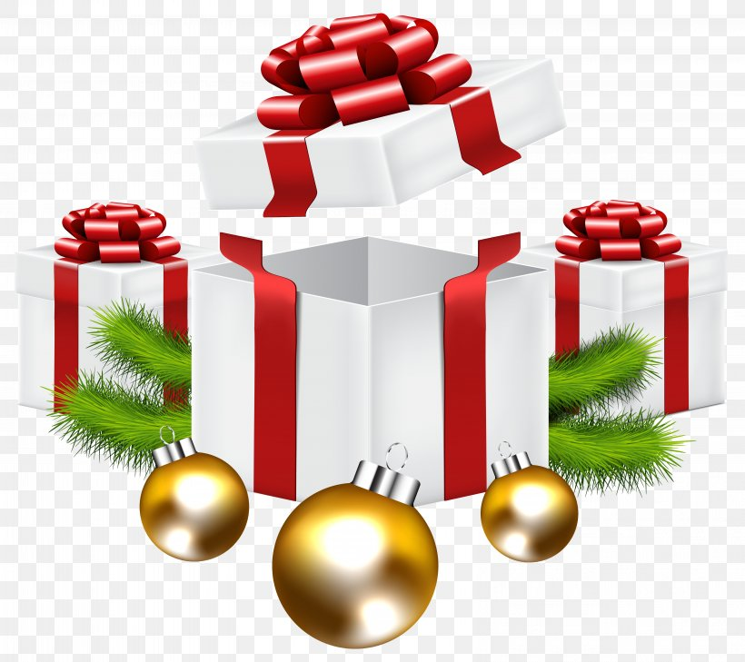 Christmas Gift Christmas Tree Clip Art, PNG, 6392x5685px.
