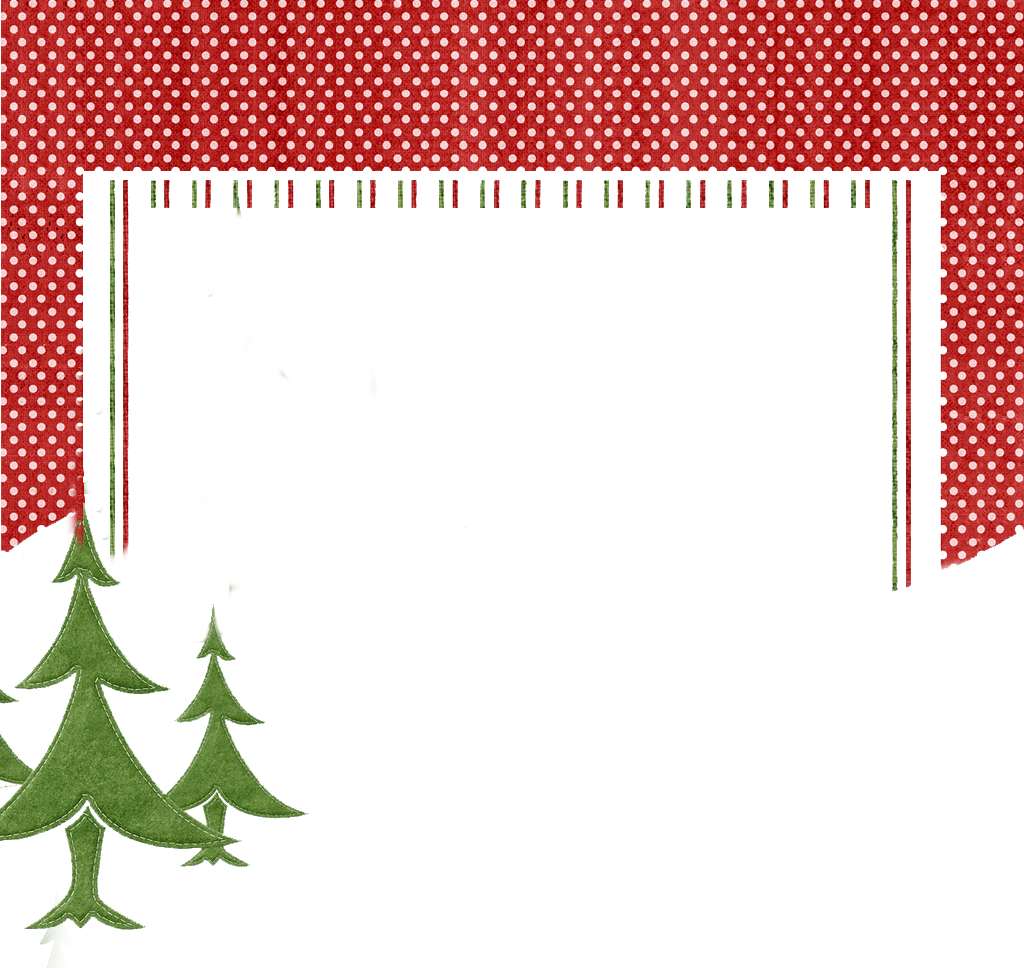 Xmas Frame Transparent PNG Pictures.