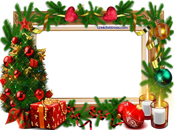 Christmas Photo Frame Templates for FREE Download.