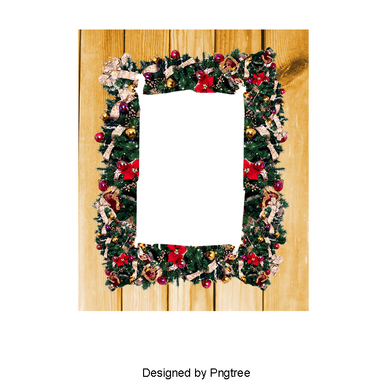 Christmas Frame Png, Vector, PSD, and Clipart With Transparent.