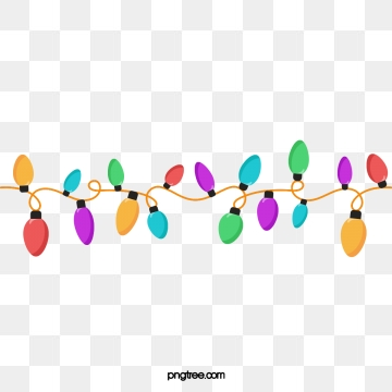 Christmas Lights Png, Vector, PSD, and Clipart With Transparent.