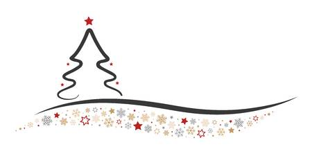 Christmas Tree Line Drawing Free Download Clip Art.