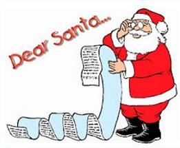 Free Christmas List Clipart.