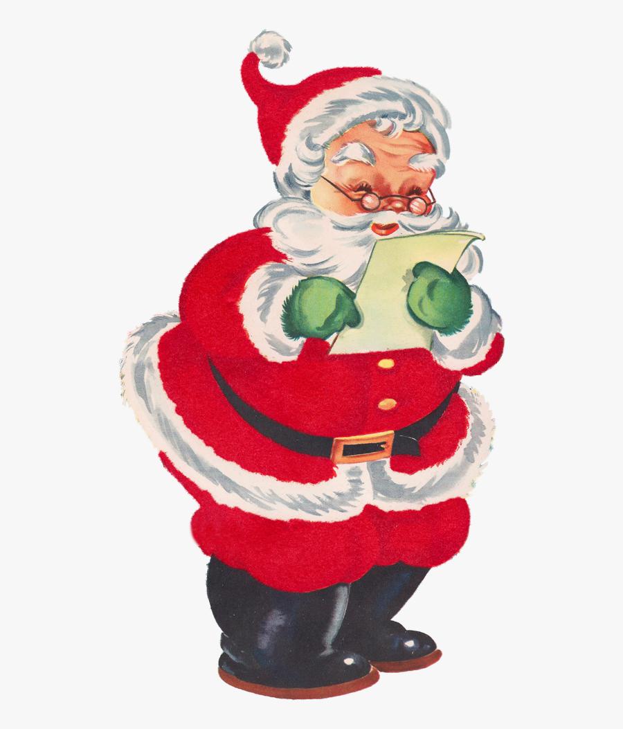 Transparent Christmas List Png.
